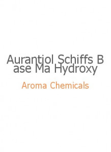 Aurantiol Schiffs Base Ma Hydroxy