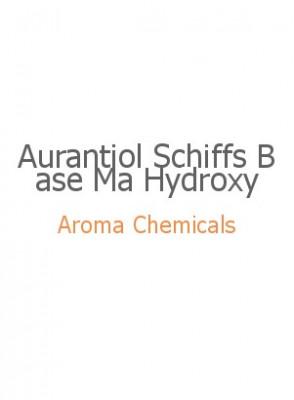 Aurantiol Schiffs Base Ma Hydroxy