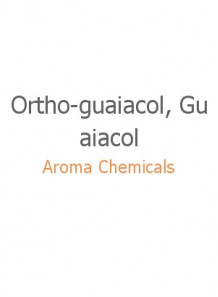 Ortho-guaiacol, Guaiacol