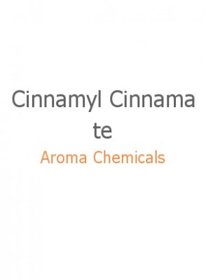 Cinnamyl Cinnamate, FEMA 2298