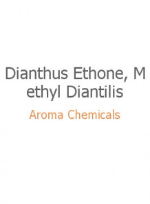 Dianthus Ethone, Methyl Diantilis