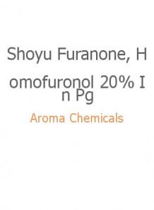 Shoyu Furanone, Homofuronol 20% In Pg