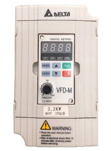Inverter ควบคุมความเร็วมอเตอร์ VFD022M43B 2.2KW (Delta Electronics)