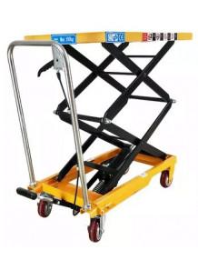 รถเข็นไฮดรอลิค 100kg 700x450มม ยกสูง 720มม