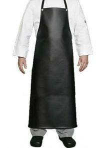 ผ้ากันเปื้อน PVC หญิง/ชาย ขนาด 100x70ซม. สีดำ