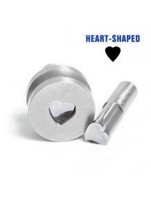 โมลด์ สำหรับ เครื่องตอกเม็ดยาไฟฟ้า รูปหัวใจ 16มม