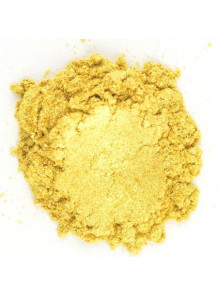 Luster Golden Yellow Mica เหลืองเข้ม เหลือบทอง (ขนาด A)
