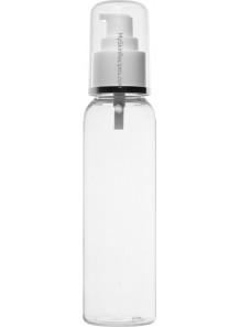 ขวดพลาสติกใส ฝาปั๊ม ขาว ครอบใส 120ml