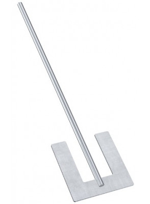 Anchor Paddle Stirrer (Stainless 304) 9ซม ยาว 40ซม
