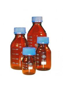 ขวดแก้ว Reagent Borosilicate สีชา 50ml