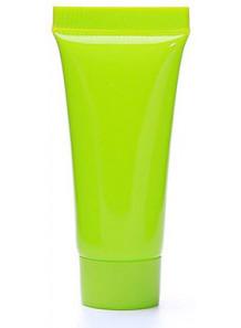 หลอดครีม หลอดเจล สีเขียว 10ml