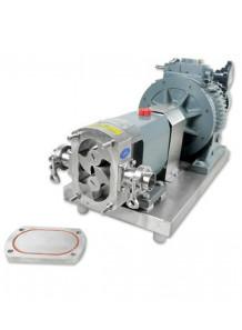 """Lobe Pump ปั๊มของข้นหนืด 1HP  ท่อ 1"""" (1600L/H) สแตนเลส 304"""