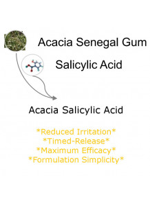 Acacia Salicylic Acid (Timed Release Water-Soluble Powder)
