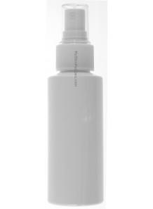 ขวดสเปรย์สีขาว ทรงกลมสูง ฝาสเปรย์ขาว 100ml