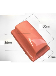 ลูกยางซิลิโคน Silicone Pad 50x20x36mm เหลี่ยม