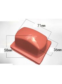 ลูกยางซิลิโคน Silicone Pad 63x46x55mm เหลี่ยม