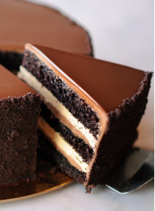 Chocolate Cake Flavor (ละลายน้ำมัน)