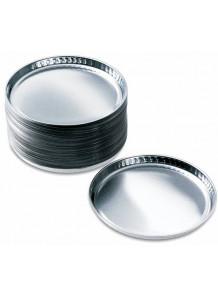 จาน อลูมิเนียม Aluminum Pan สำหรับเครื่องวัดความชื้น (50ชิ้น/pack)