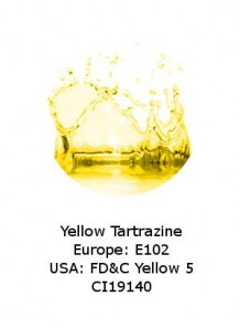 Yellow Tartrazine Powder (E102 / FD&C 5)
