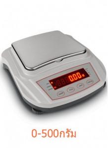 เครื่องชั่งน้ำหนักสำหรับแลป ละเอียด 0.01กรัม/500กรัม